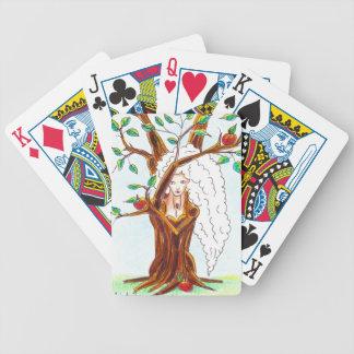 ninfa del manzano baraja de cartas