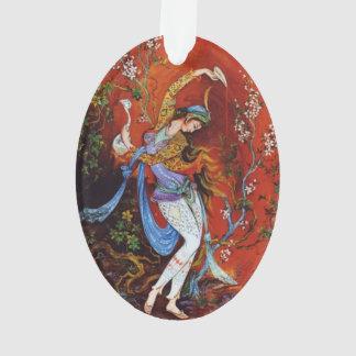 Ninfa miniatura persa del baile