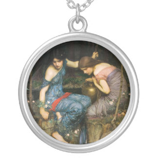 Ninfas que encuentran el jefe del collar de Orfeo