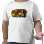 Ninfas que se bañan por ruinas clásicas camisetas