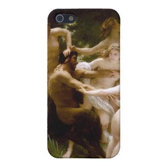 Ninfas y sátiro, William-Adolphe Bouguereau iPhone 5 Carcasas