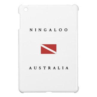 Ningaloo Australia Scuba Dive Flag iPad Mini Cases