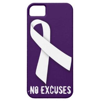 Ningún abuso emocional de la violencia en el hogar funda para iPhone SE/5/5s