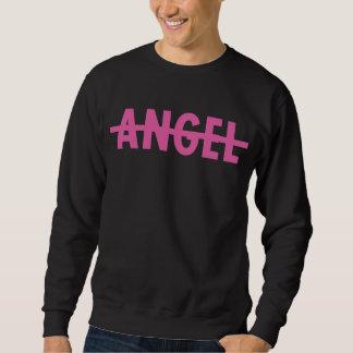 Ningún ángel sudadera con capucha