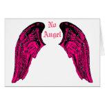 ningún ángel tarjetas