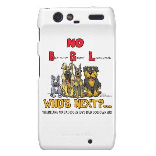 Ningún B.S.L ninguna legislación del específico de Motorola Droid RAZR Carcasas