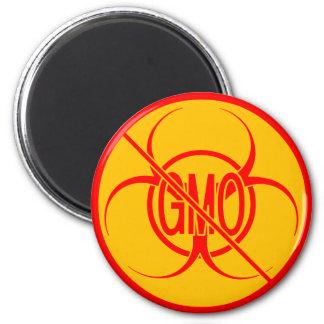 Ningún Biohazard de los imanes de GMO ningún imán