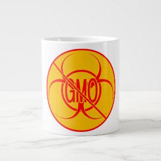 Ningún Biohazard enorme de la taza de GMO que advi Taza Grande