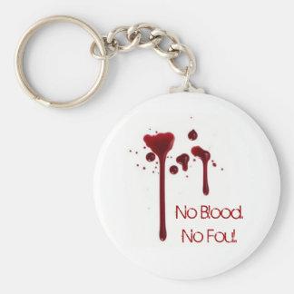 Ningún Blood.No asqueroso Llavero Redondo Tipo Pin