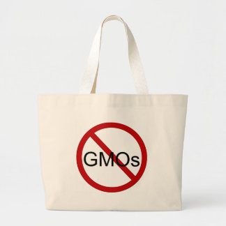 Ningún bolso de compras de los GMOs Bolsa Lienzo