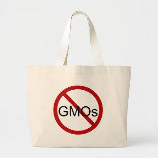 Ningún bolso de compras de los GMOs Bolsa Tela Grande