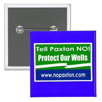 Ningún botón cuadrado de Paxton Pins