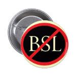 Ningún botón de BSL Pin