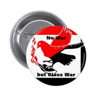 Ningún botón de la guerra pin redondo de 2 pulgadas