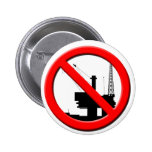 Ningún botón de la perforación petrolífera en el m pin