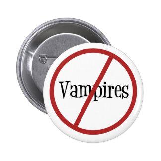 Ningún botón de los vampiros pin