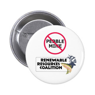 Ningún botón del guijarro RRC Pin