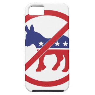 Ningún burro de Demócrata de la política iPhone 5 Fundas