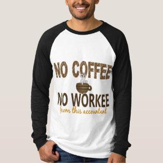 Ningún café ningún contable de Workee Poleras