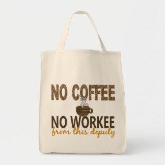 Ningún café ningún diputado de Workee Bolsa Tela Para La Compra
