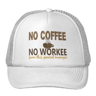 Ningún café ningún director general Workee Gorro