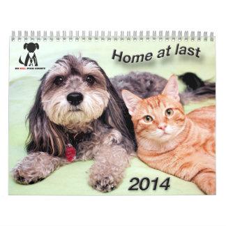 Ningún calendario 2014 del condado de Pima de la m