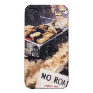 Ningún camino iPhone 4/4S carcasa