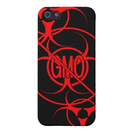 Ningún caso del iPhone 5 de GMO del Biohazard del  iPhone 5 Carcasa