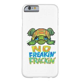 Ningún caso del iPhone 6 de la tortuga de Fracking