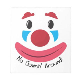 Ningún Clownin Bloc De Papel