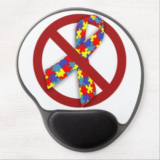 Ningún cojín de ratón del autismo del rompecabezas alfombrilla de ratón con gel