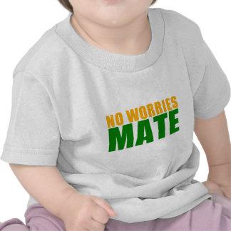 ningún compañero de las preocupaciones camisetas
