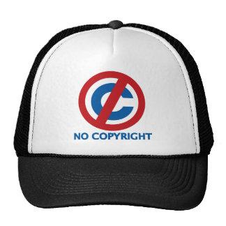 Ningún Copyright Gorras De Camionero