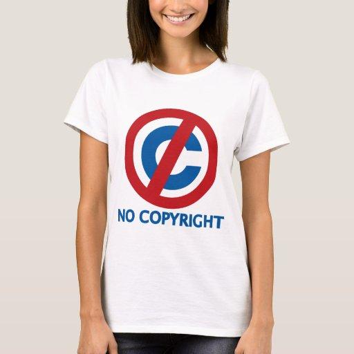 Ningún Copyright Playera