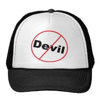 Ningún cristiano permitido diablo gorra