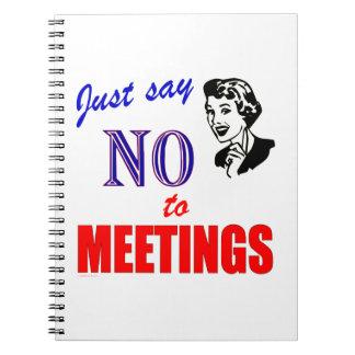 Ningún cuaderno del humor de la oficina de las