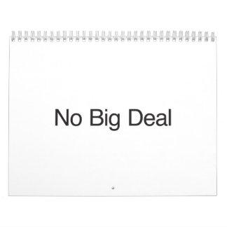 Ningún Deal.ai grande Calendarios De Pared