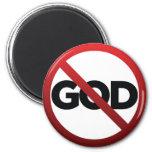 Ningún dios imán para frigorífico