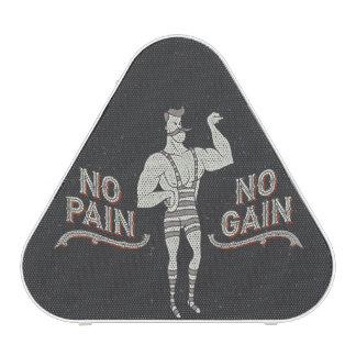 Ningún dolor ningún aumento - humor del altavoz