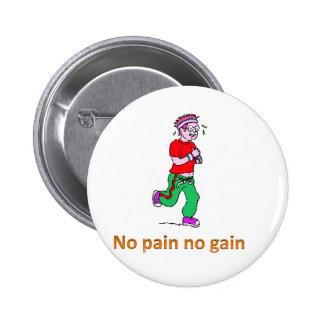 Ningún dolor ningún aumento pin redondo de 2 pulgadas
