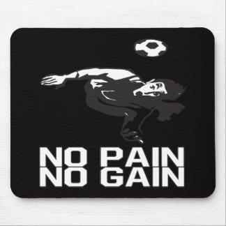 Ningún dolor ningún aumento tapete de raton