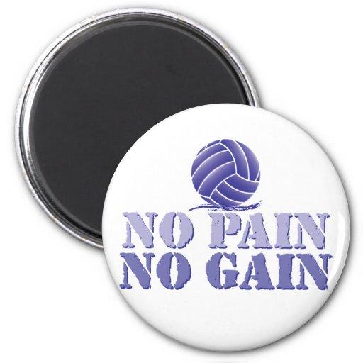 Ningún dolor ningún voleibol del aumento imán redondo 5 cm