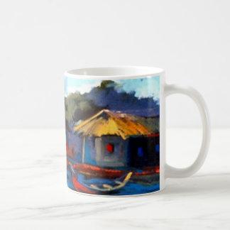 Ningún donde como hogar taza de café