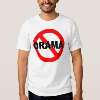 Ningún drama (camiseta) camisas