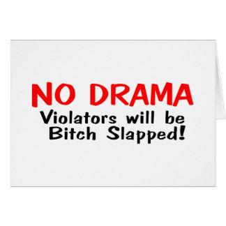 Ningún drama felicitaciones