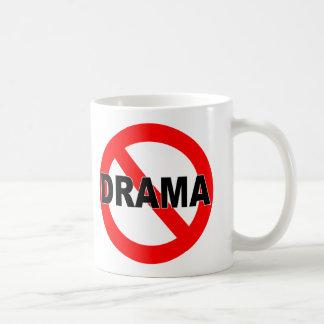 Ningún drama (taza) taza básica blanca