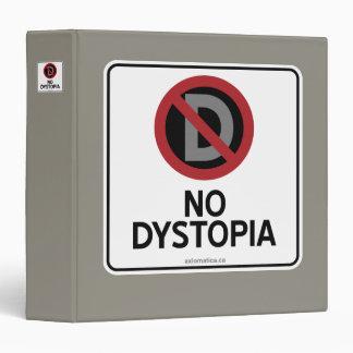 "NINGÚN DYSTOPIA CARPETA 1 1/2"""