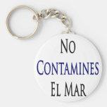 Ningún EL marcha de Contamines Llavero Personalizado