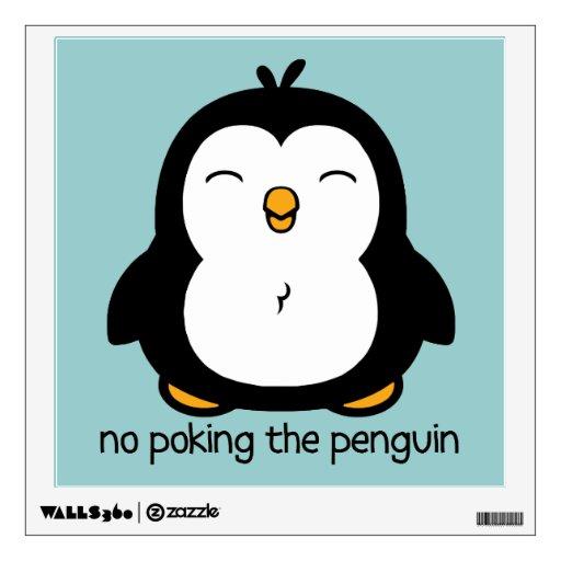 Ningún empuje del pingüino
