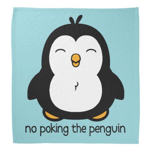 Ningún empuje del pingüino bandana